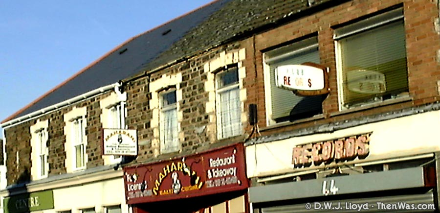 Gibbs Record Store on Clifton Street Cardiff - 2003