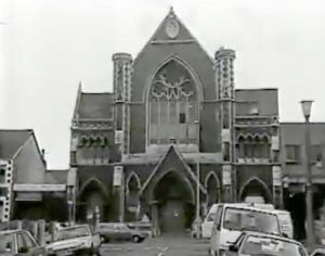 Broadway Methodist Chapel Before The Fire - 1980s