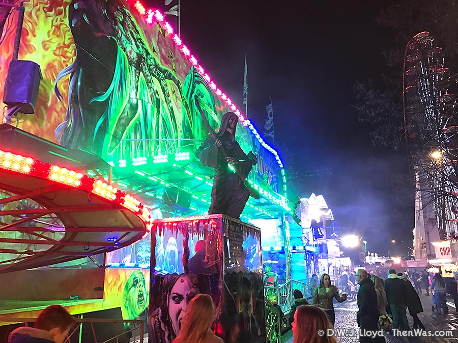 The New Year's Fair At Cardiff