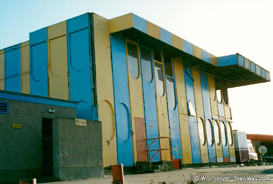 The Fun House at Barry Island Fun Fair circa 1994
