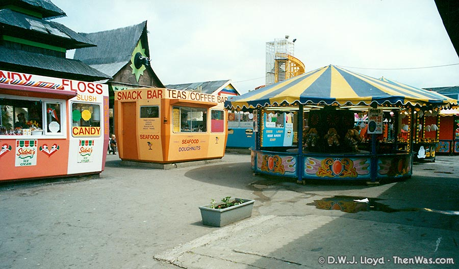 Entrance to Barry Island Fun Fair circa 1994
