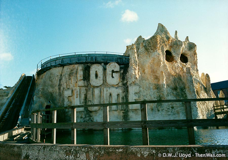 The Barry Island Log Flume circa 1994