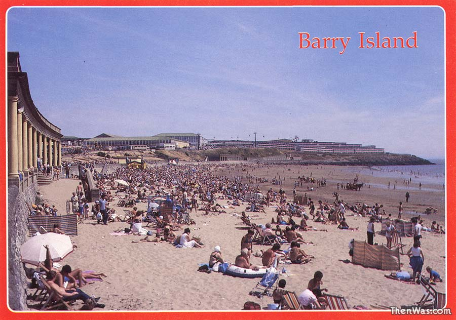 A view of the beach - 1980s