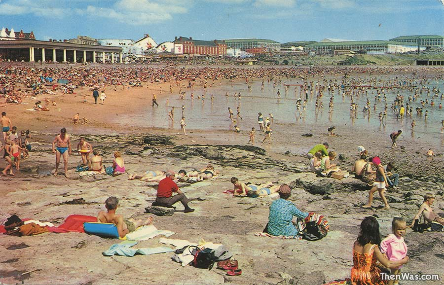 A view of the beach - 1970s