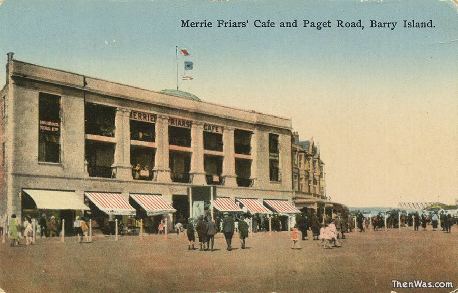 The Merrie Friars' Cafe 1920s - Now Caesar's Palace