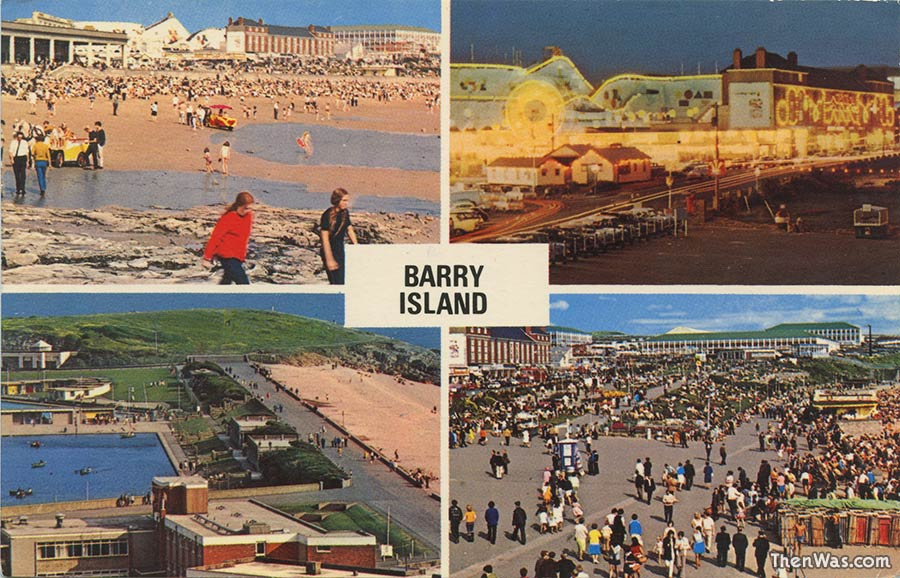 A multi-view card from the early 1970s