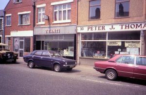 Video shop to the left of Tanti's, circa 1989 - photographer unknown