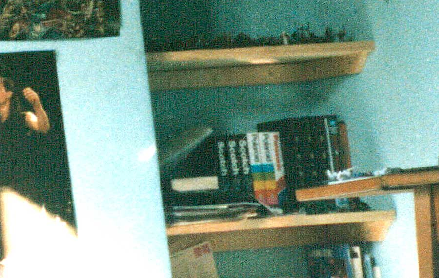My small VHS collection in 1988