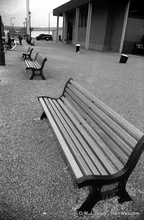 Benches outside the old Maritime Museum.