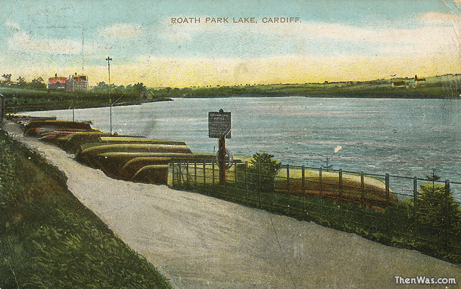 1900s view of the of the landing area
