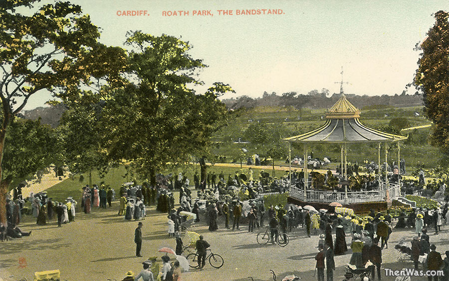 The bandstand - 1910s?