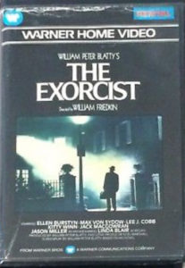 The UK Pre-cert of The Exorcist.