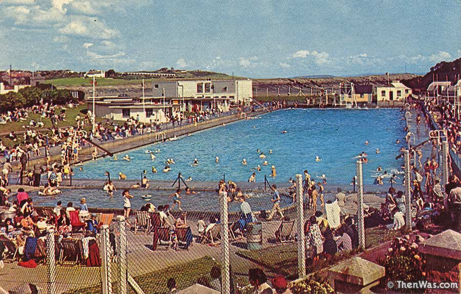 Cold Knap Swimming Pool Circa 1960s (Photographer Unknown)