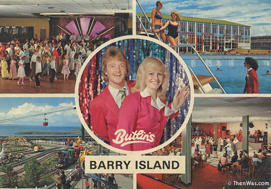 Butlins Multiview Postcard From The 1970s (Photographer E. Nägele, D. Noble)
