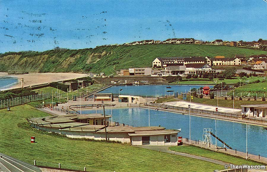 Cold Knap Swimming Pool Circa 1970s (Photographer Unknown)